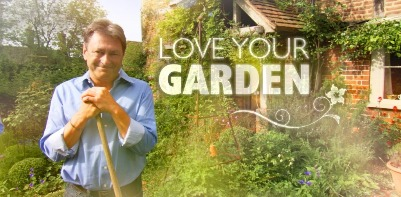 David co-presents ITV's Love Your Garden with Alan Titchmarsh