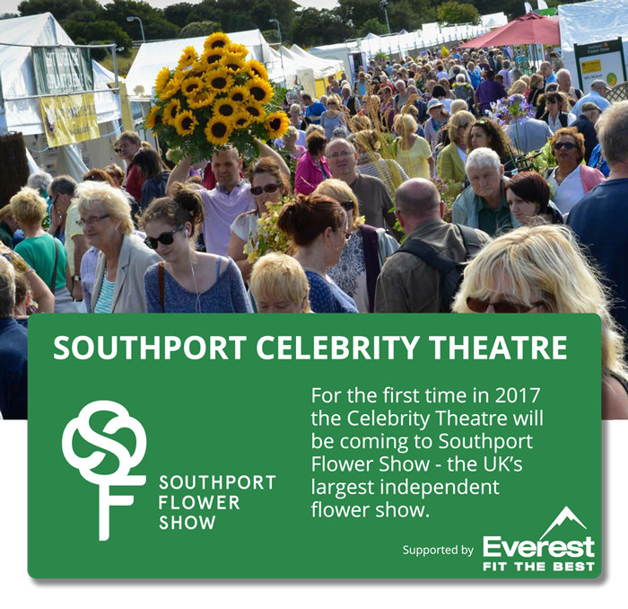 Southport Flower Show Celebrity Theatre