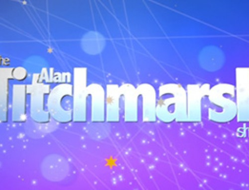 David promotes front gardens on the Alan Titchmarsh Show