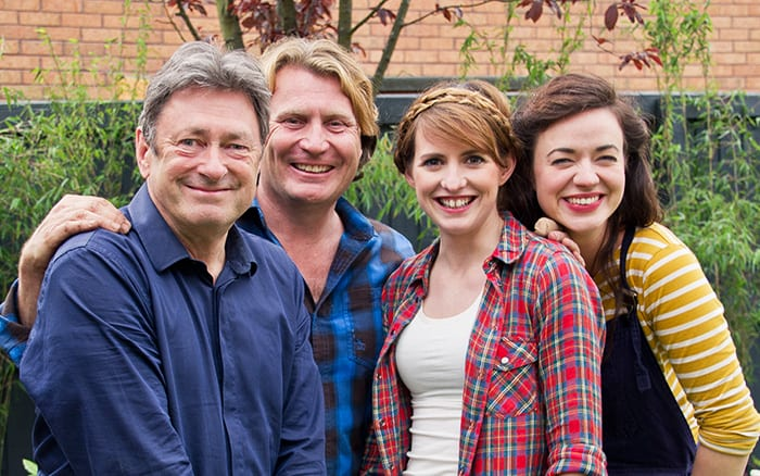 Love your Garden ITV presenters Alan Titchmarsh David Domoney Katie Rushworth Frances Tophill
