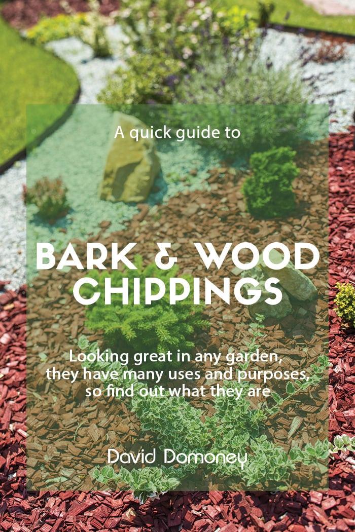 Bark wood chippings