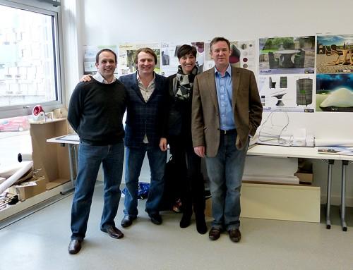 David joins Hartman to judge Furniture Design competition at Birmingham City University