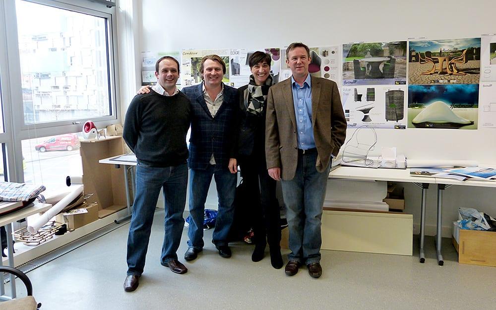 Phil, David, Gina and Paul