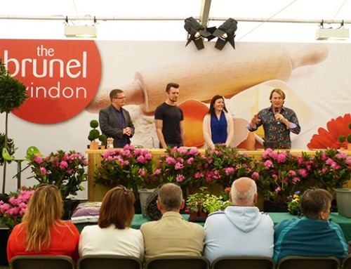 Gardening and cooking demos at Brunel Swindon Flour Festival