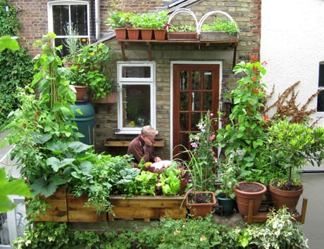 Use containers to make the most of your space