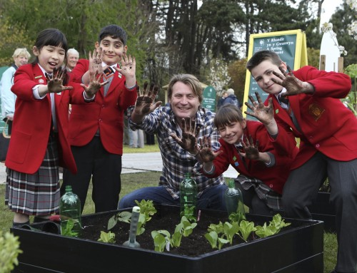 Why gardening is so important for children