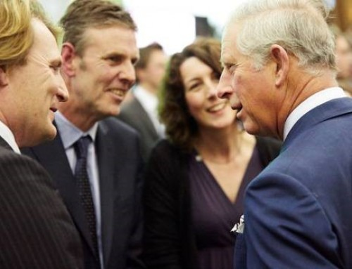 Meeting The Prince of Wales at the Ideal Home Show