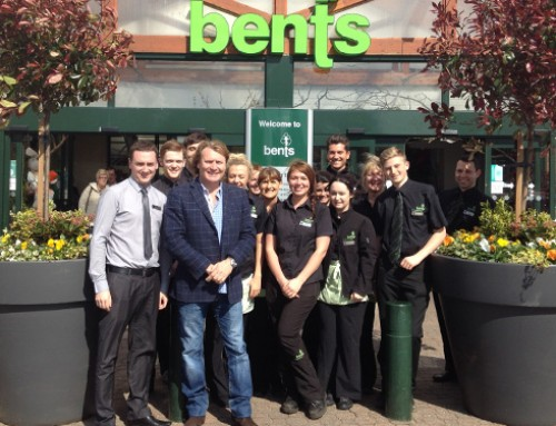 Appearance at Bents garden centre with Jacuzzi