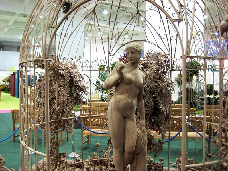 David Domoney Chocolate Garden Ideal Home Show