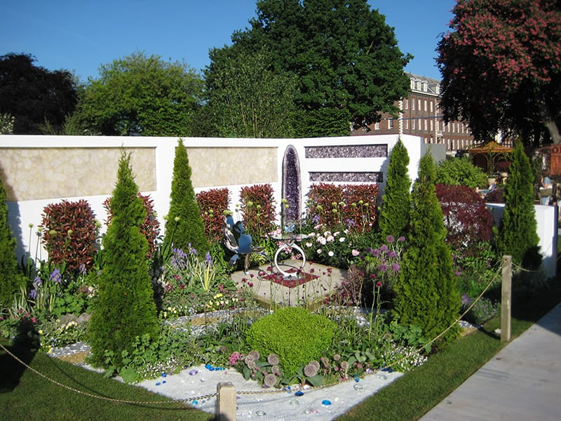 David Domoney Ace of Diamonds Garden Chelsea Flower Show