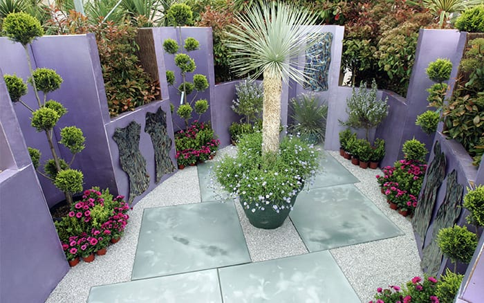 David Domoney Chelsea Flower Show Reflections Garden