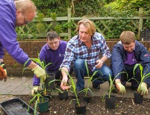 David Domoney joins Thrive charity as Ambassador for Gardening