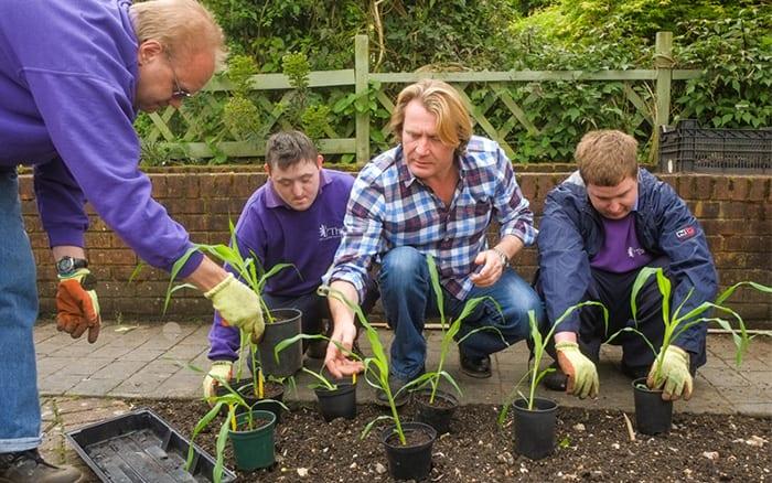 David Domoney Thrive Ambassador for Gardening