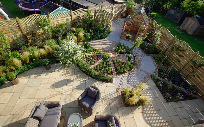 Itv love your garden meet presenter david domoney for Love your garden designs