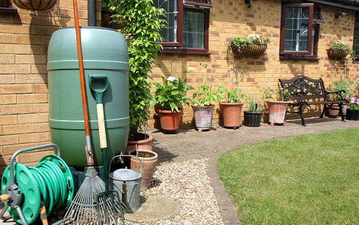water-butt-in-garden-water-recycling-sustainability