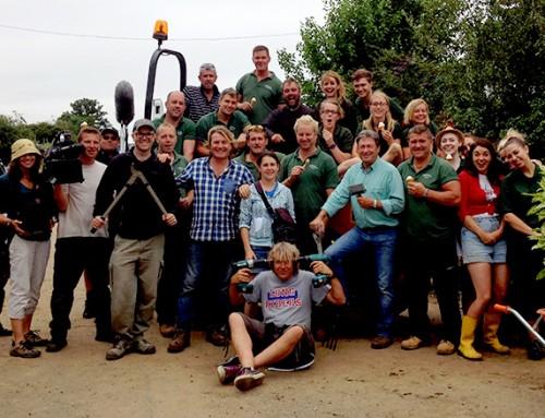 Love Your Garden series 4 episode 8: Behind the scenes photos