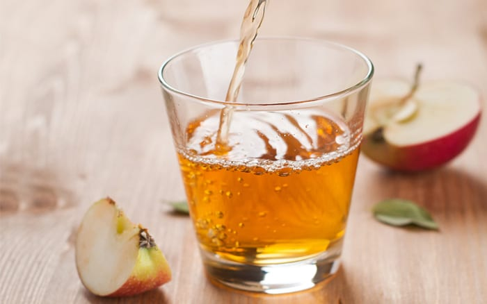 make apple juice to preserve fruit - you can freeze it in empty milk cartons