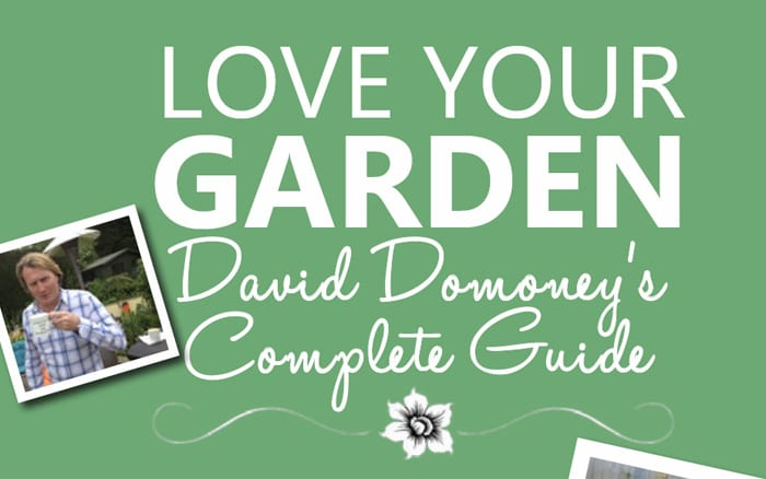 david domoney 39 s complete guide to itv love your garden. Black Bedroom Furniture Sets. Home Design Ideas
