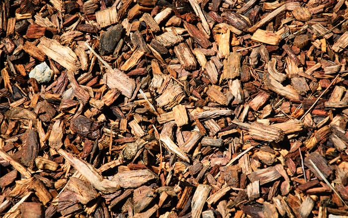 bark wood chips biodegradable mulch