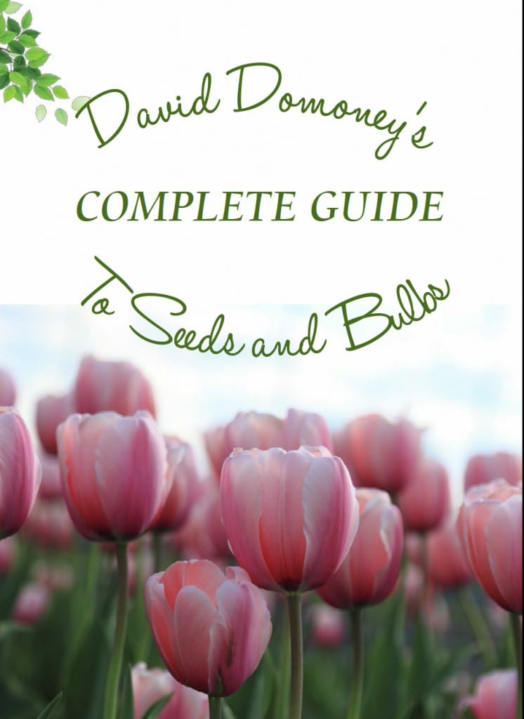 David Domoneys complete guide to seeds and bulbs - how to planting and gardening