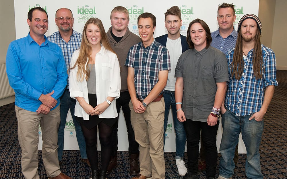Writtle-College 2015 young gardeners of the year