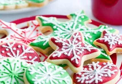 Iced-stars-Christmas biscuits