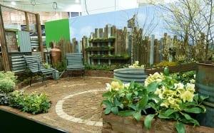 hardy small garden design Capel-Manor-garden-design-young-gardeners-2014