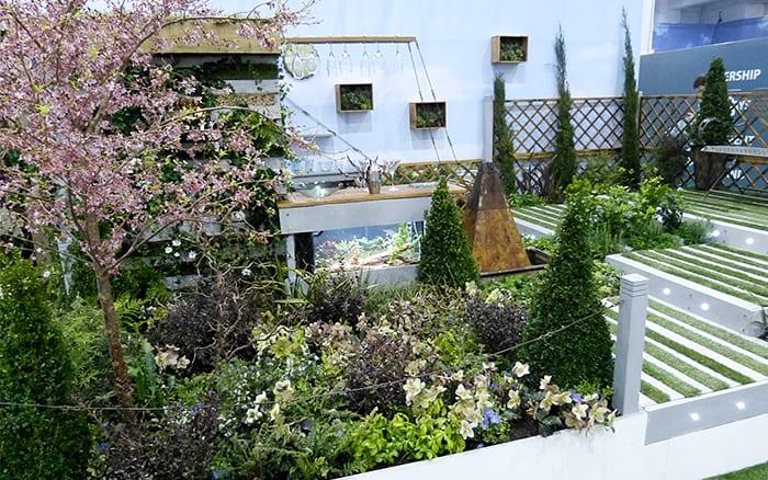 Chichester-college-garden-2014 ideas for small garden design