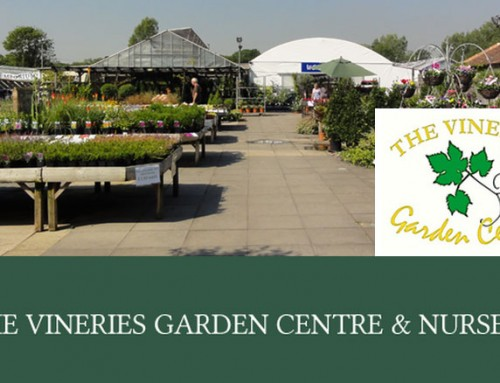 Come and see David at The Vineries garden centre in Surrey!