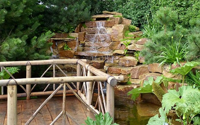 Sentebale waterfall