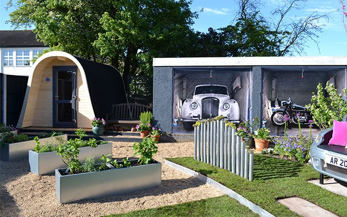 love-your-garden-makeover-chrome-raised-beds-and-cars