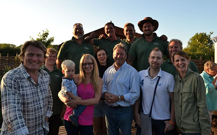 love-your-garden-2015-team-presenters-and-frosts-landscapes-in-finished-garden-with-family-episode-8