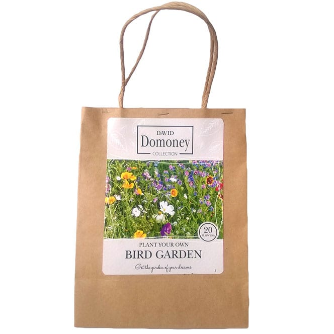 Plant Your Own Bird Garden Seed Mix - David Domoney for John Lewis collection