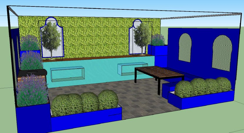 Shuttleworth College Final Show Garden Design for the Ideal Young Gardeners of the Year 2016