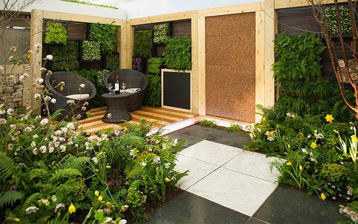Askham Bryan Collegeu0027s Contemporary Woodland Garden   Get The Best Small Garden  Design Tips