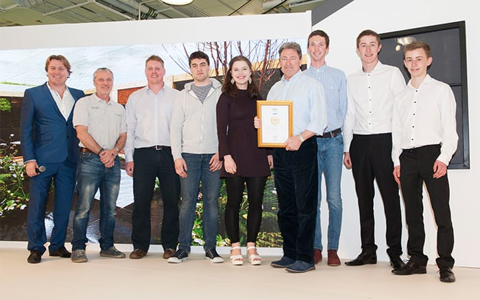 Askham Bryan College wins a Gold Medal at the Young Gardeners of the Year 2016 Competition