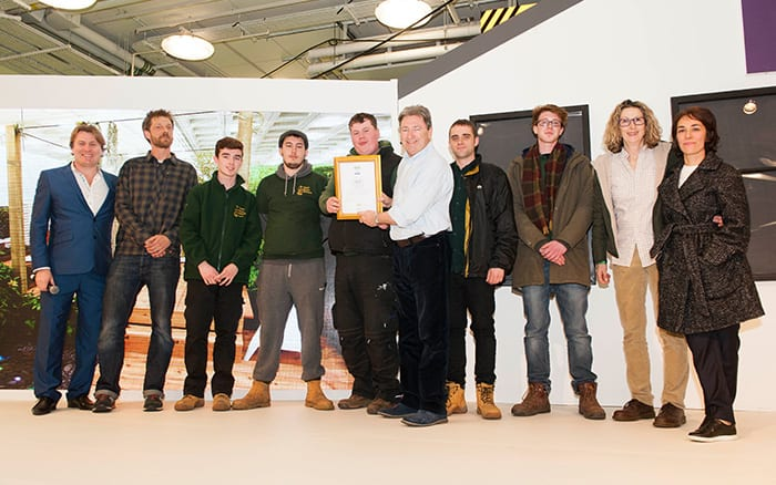 Capel Manor College wins a Silver Medal at the Young Gardeners of the Year 2016 Competition