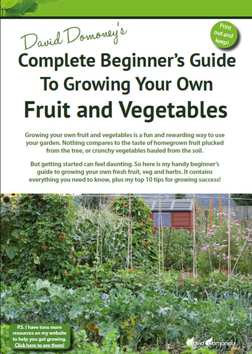 David Domoneyu0027s Complete Beginneru0027s Guide To Growing Your Own Fruit And  Vegetables