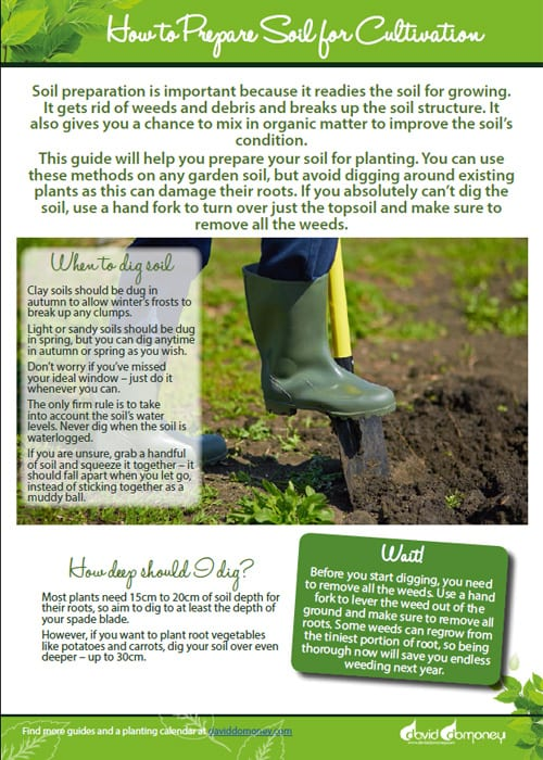 How To Prepare Soil For Cultivation   Easy Vegetable Gardening Guide To  Preparing The Soil For