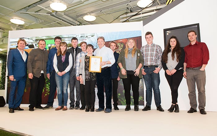 Pershore College wins a Gold Medal at the Young Gardeners of the Year 2016 Competition