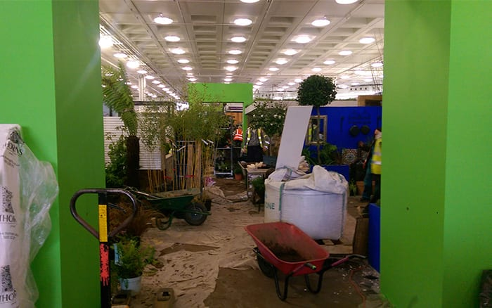 young-gardeners-of-the-year-show-garden-build-ideal-home-show