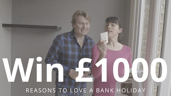 Win £1000 Bank