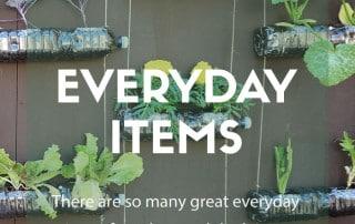 everyday gardening items