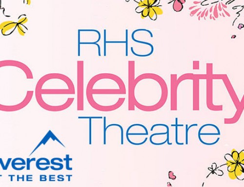 Catch me at the RHS Celebrity Theatre in the Hampton Court Palace Flower Show!