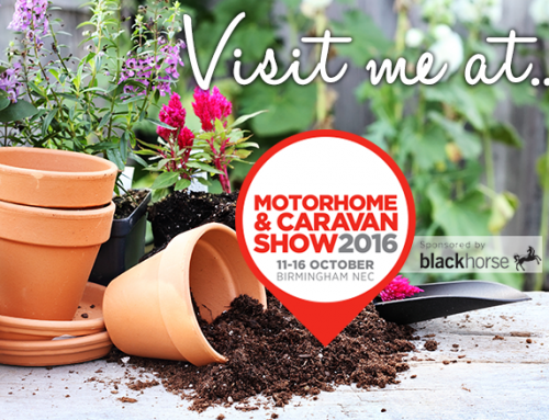 Come and see me talk at the Motorhome and Caravan Show 2016