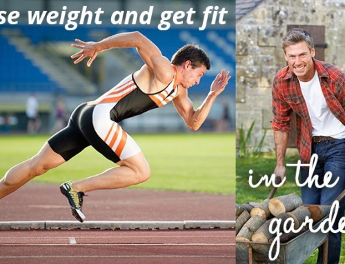 Lose weight and get fit gardening