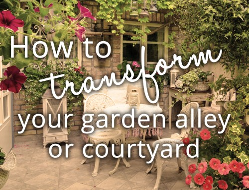 How to transform your garden alley or courtyard
