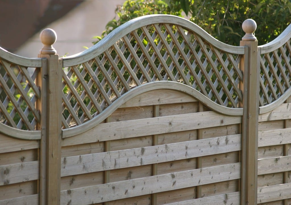 decorative wooden fence panels the. Black Bedroom Furniture Sets. Home Design Ideas