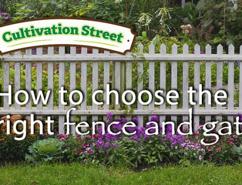 Front Garden Guide- Choosing the right garden fence and gate