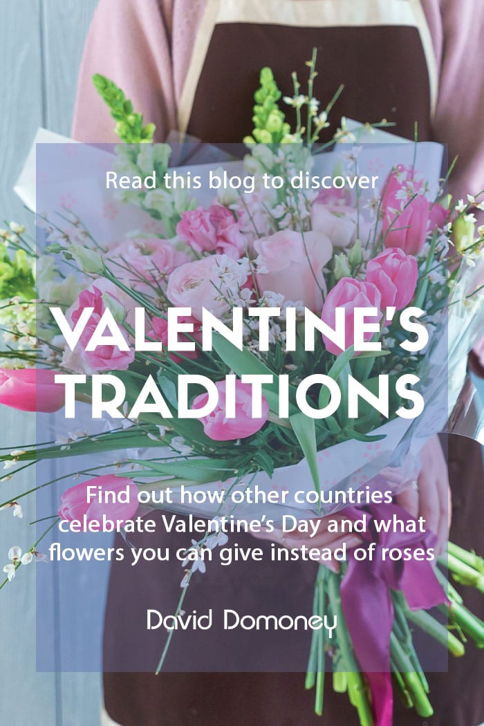 Valentine's Day traditions and alternatives to roses feature